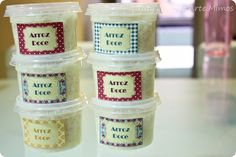 DIY - Do It Yourself - Festa Junina - Arroz Doce - Tuty - Arte & Mimos www.tuty.com.br #festa #junina #decoração #xadrez #DIY