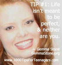 Gemma Stone's Tip for Teenagers