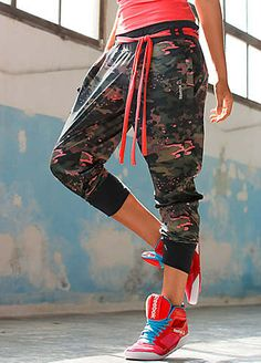 These are my favourit dancing pants♥ Reebok Dance Pants