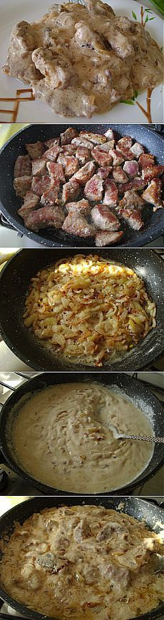 Мясо по-деревенски — мясо, которое просто тает во рту.