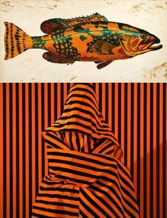 "Saatchi Online Artist: Ira Upin; Oil, 2007, Painting ""Big Fish"""