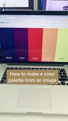 Graphic Design Lessons, Graphic Design Tutorials, Web Design, Tool Design, Make A Color Palette, Life Hacks For School, Illustrator Tutorials, Photoshop Photography, Photoshop Tutorial
