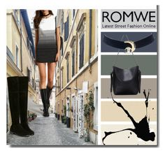 """""""Romwe II/1"""" by m-sisic ❤ liked on Polyvore"""