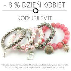 Z okazji zbliżającego się Dnia Kobiet zniżka✂-8% na kod: JFJL2V1T Biżuteria 📿 pakowana 🎁 ozdobnie bez dodatkowych opłat. Polskie rękodzieło. Nie wiesz co podarować swojej ukochanej 🌷 My pomożemy Ci z doborem biżuterii i nie tylko https://ecobizuteria.pl  #styl #dzieńkobiet #prezent #dlaniej #gift #bracelet #bransoletka #kamienienaturalne #bizuteria #biżuteria  #polishwoman #polishgirl #handmade #love #shopping #musthave #kobieta #polishgirl #myjewellery #bizu #polskadziewczyna #nowości…