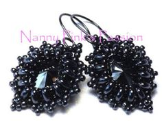 EMAIL TUTORIAL Pillow Talk Earrings by NannyPinksPassion on Etsy