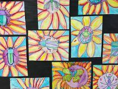 "Apex Elementary Art: ""under stepping stones"""