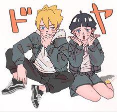 Boruto And Kawaki, Uzumaki Boruto, Naruto And Hinata, Naruto Cute, Naruto Shippuden Anime, Naruhina, Uzumaki Family, Naruto Family, Boruto Naruto Next Generations