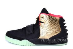 "new style 05b91 a6287 Find Nike Air Yeezy 2 ""Imperial"" Black Gold Glow In The Dark Christmas  Deals online or in Footseek. Shop Top Brands and the latest styles Nike Air  Yeezy 2 "" ..."