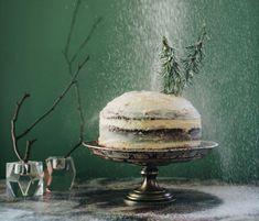 Gyömbéres Whoopie Pie torta narancsos mascarpone krémmel, rozmaring fenyőkkel   Lila füge Lilac, Mascarpone, Yogurt
