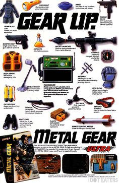 The Metal Gear series starts (1989).