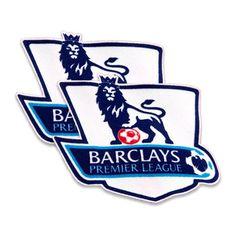 English Premier League 2007-13 Fan Felt Sleeve Badge Set