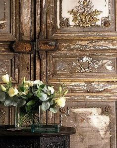 Old Doors, Windows And Doors, Antique Doors, Vintage Doors, Antique Hardware, Cabinet Hardware, Antique Items, Antique Brass, Architectural Salvage