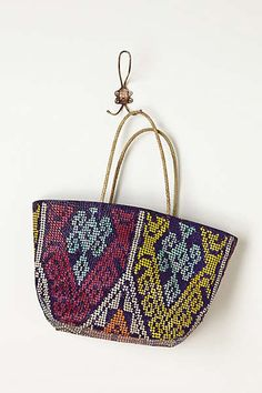 Anthropologie - Malagasy Woven Tote