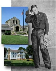 Will Rogers - I love the Will Rogers Museum in Claremore, OK!
