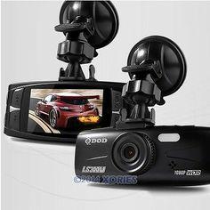 "DOD LS300W 2.7"" LCD Car DVR 1080P Motion Detect Overwrite Dash Camera"