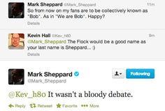 It wasn't a bloody debate