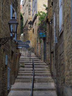 Sarlat-la-Canéda: Toulouse coast and its stone houses, in Périgord - France-Voyage.com