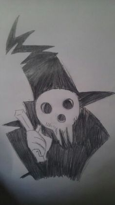 My drawing of lord Death from soul eater maizey droz