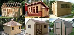 Planning To Build A Shed? Now You Can Build ANY Shed In A Weekend Even If You've Zero Woodworking Experience! Start building amazing sheds the easier way with a collection of shed plans! Backyard Sheds, Outdoor Sheds, Building A Shed, Building Plans, Cabana, Flat Roof Shed, Shed To Tiny House, Free Shed Plans, Simple Shed