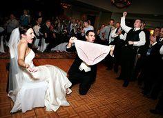 Funny Garter Removal Wedding Pranks My Cousin Shelly Flynn