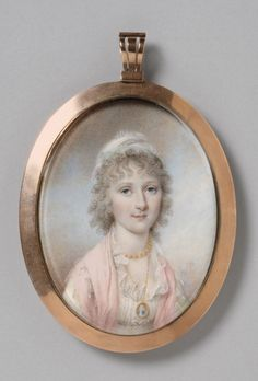 James Peale, Portrait of Maria Bassett, 1801