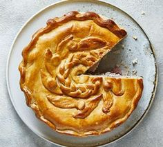 Use up the Christmas leftovers to make this hearty, deep-filled turkey and ham pie. You could use shop-bought pastry but nothing beats homemade turkeyandhampie Ham Recipes, Bbc Good Food Recipes, Turkey Recipes, Leftovers Recipes, Savoury Recipes, Chicken Recipes, Entree Recipes, Turkey And Ham Pie, Chicken Ham