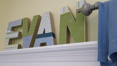 letters decoration - Google Search