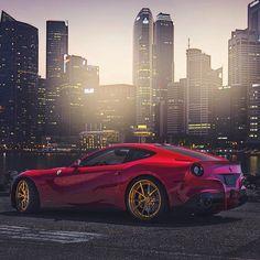 Sunday Funday. #ItsWhiteNoise #Ferrari #Singapore @blackphotograph