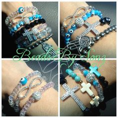 Beads by Sonz follow on Pinterest and Instagram like on Facebook page. Helping to fight cervical cancer awareness