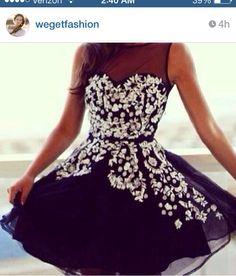 Cute dress for a dance