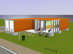 Foreign Community> Game Room> Big ... Container House (With pressure) + pett bit