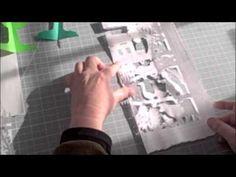 Brother Sun, Sister Moon: Creating the Images.  Video by Pamela Dalton, paper-cuts (Schereneschnitte) art.