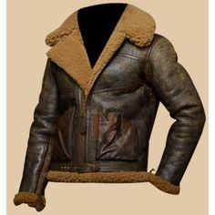Polo Ralph Lauren Brown Dover Shearling Bomber Jacket