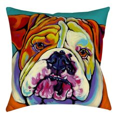 Maggie Printed Throw Pillow