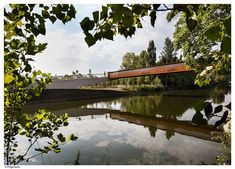 Concrete-Corten_Bridge_Over_Rio_Arga-Aranzadi_Park-10 « Landscape Architecture Works   Landezine