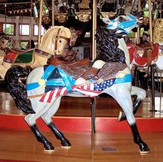 Antique Carousel, Coolidge Park, Chattanooga, TN