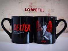 New 450ML Quality Ceramic Coffee Mug Cup Of Dexter America's Favorite Serial Killer —Loveful
