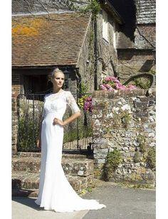Meerjungfrau Exklusive Modische Brautkleider aus Chiffon mit Schleppe