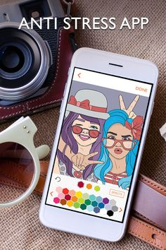 Color over 1000 pictures! Apply beautiful effects, change from various colors and share!