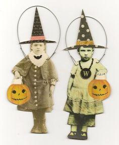 vintage Halloween | http://my-happy-halloween-days.blogspot.com