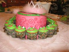princess and the frog cake ideas | Can Do Cakes: Baby Shower: Frog Princess Theme