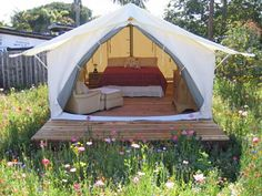 Stunning Wall Tent Ideas For Nice Camping Camping is a good method to make the most of your opportunities for adventure. Eventually, they need to consider what kind of camping you'd prefer. No matter my complaints, a poor night campi… Camping Glamping, Camping Life, Family Camping, Camping Hacks, Outdoor Camping, Camping Ideas, Luxury Camping, Camping Jokes, Backyard Camping