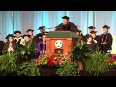 I heard this commencement speech at our recent graduation at Binghamton University.  It is the best one I've ever heard.  If you want to be inspired to pursue your dreams watch this speech!