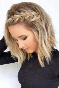 Beach Wave Hair, Loose Waves Hair, Beach Waves For Short Hair, Beach Waves Hairstyle, Beach Curls, How To Curl Short Hair, Short Hair Updo, Fancy Short Hair, Upstyles For Short Hair