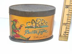 Carrs Sample Butter Toffee Tin