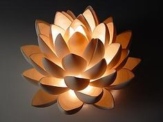 """""""Lotus"""" Ceramic Table created by Lilach Lotan"""