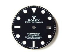 Watches for Parts 165144: Rolex Submariner-S-S Glossy Black Color And Bright Luminous -> BUY IT NOW ONLY: $130.0 on eBay!