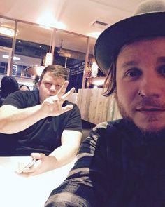 Zachs Instagram: Dinner in Hollywood Mr. @nicekicks...