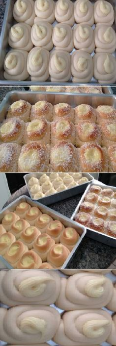 My friend has a bakery and showed me the recipe for DELEGIOUS SUEGRA EYES, which is the biggest sales success! Hispanic Dishes, Flan Cake, Cookie Cake Pie, Mexican Dessert Recipes, Jam Cookies, Pan Dulce, Pan Bread, Sweet Bread, No Bake Cake