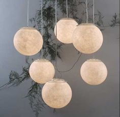 Sei Lune Pendant Light Even the shapes evoke the celestial body, reproducing it in any vein. Just like having a small personal moon. Globe Pendant Light, Holly Hunt, White Light, Decoration, Table Lamp, Bulb, Ceiling Lights, Lighting, Glass